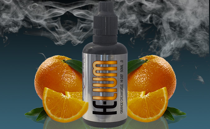 Helium e-liquid Orange Creamsicle