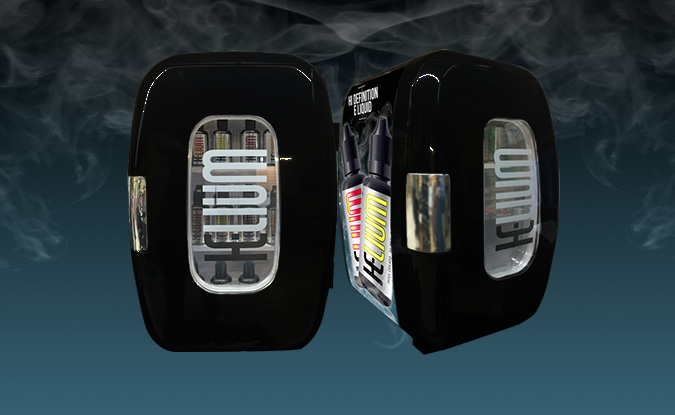 helium e-liquid chiller display