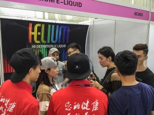 helium e-liquid in china