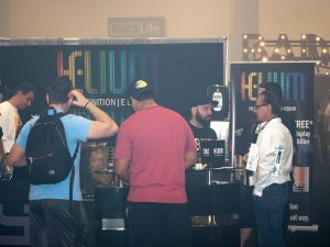 helium e-liquid World Vape Expo Miami