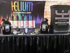helium e-liquid trade show