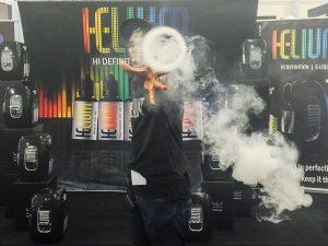 vape tricks with helium e-liquid