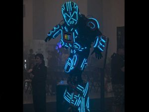 Trade Show Robot Helium e-liquid