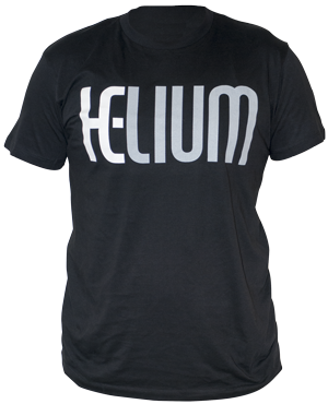 helium e-liquid short sleeves t-shirt