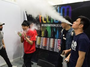 vaping helium e-liquid in china