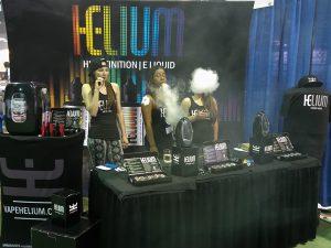 helium e-liquid Vape Expo Chicago